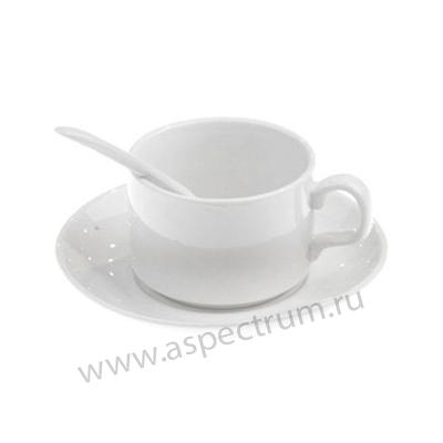 Кофейный набор (кружка+ложка+блюдце)
