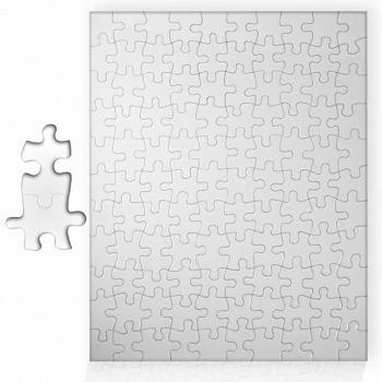 Пазл картонный А3 26х38 см 252 элемента